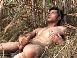 Asian Model Jerk off Outdoor | asian   boys   jerking   models   outdoors