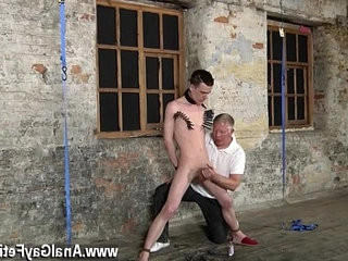 Nude men Sean McKenzie is strapped up and at the mercy of sir | mens   nude   trimmed