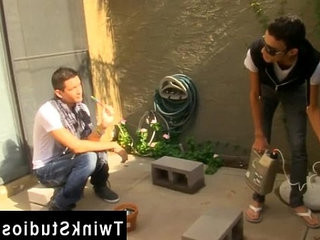 Hot gay sex Dustin Cooper is trying to get some gardening done but   but clips  gays tube  latinos man  some