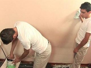 Latino Twinks Paint Job | job collection  latinos man  twinks