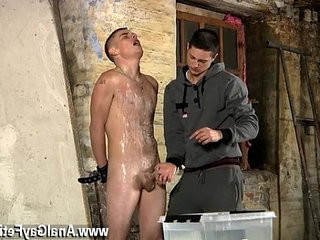 Gay cum guys Poor Leo cant escape as the stellar youngster gets his | average   cums   gays tube   getting   youngster