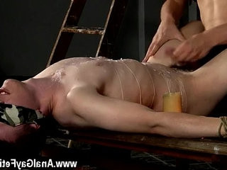 Gay guys The super fucking hot wax on his mild bod has him weeping | gays tube   shorthair