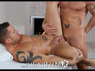 ManRoyale Shane Frosts swallows big load from Jeremy Stevens | big porn  massage
