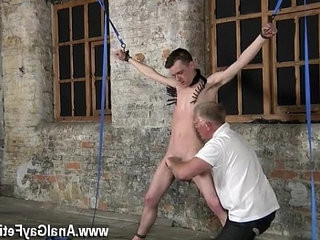 Gay cock Sean McKenzie is tied up and at the mercy of master | cocks  gays tube  handjob  master  tight movie