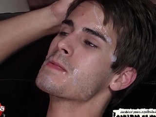 Christmas Bukkake Boys facial cumshot compilation | boys   bukkake   facial top