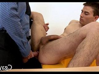 Naughty threesome for homosexual guys | homosexual  naughty  threesome