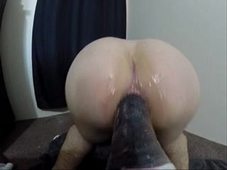 Inserting Huge dildo | anal top   dildo   huge gay   toys twinks