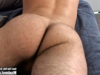 Latin Twink Tweaks His Twig and Berries | hairy guy   latinos man   twinks
