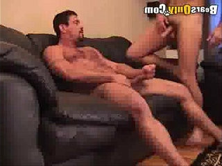 Handsome Daddy Face Fucked | daddy  face  fucking  hairy guy  handsome