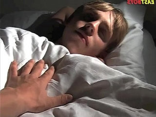 Sleeping Boy Gets Handjob | boys   getting   handjob   sleeping   twinks