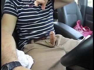 Car Jerk, Talking and Cumming | car xxx  cums  jerking  outdoors