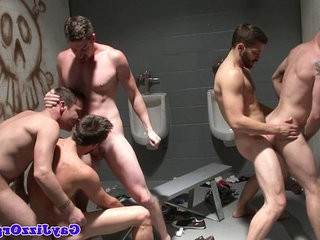 Muscular hunks fuck | enjoying  fucking  group film  hunks best  muscular