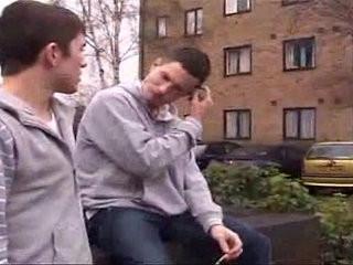 British Chav Threesome | british  threesome