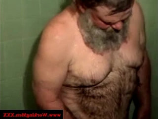 Old mature hairy redneck bears showering | bears best  hairy guy  mature  old