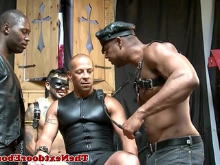 Interracial gay hunks in kinky foursome | gays tube   hunks best   interracial   kinky